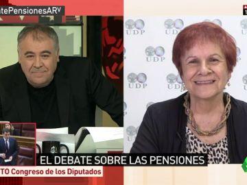 Paca Tricio, vicepresidenta de 'Unión Democrática Pensionistas y Jubilados'