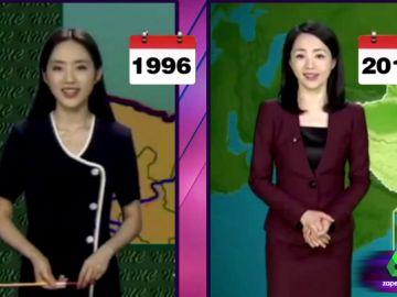 Una presentadora china en Zapeando