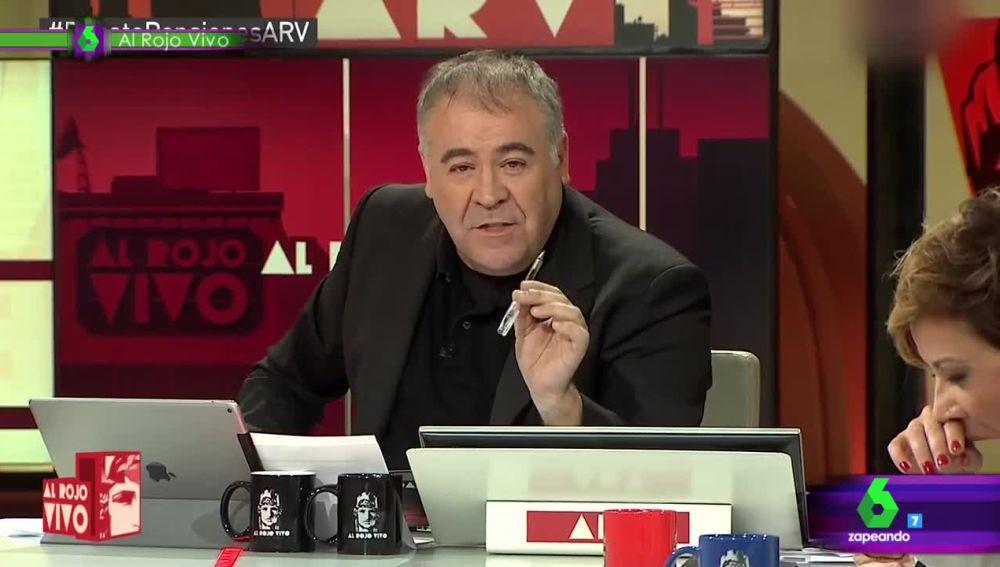 La pillada de Cristina Pardo bostezando en pleno directo de Al Rojo Vivo