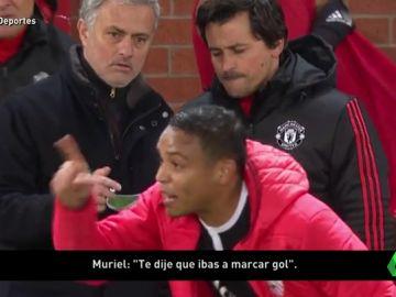 """Muriel ya previó el gol de Ben Yedder: """"Te dije que ibas a marcar"""""""