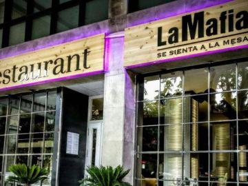 Un restaurante de la cadena 'La Mafia'