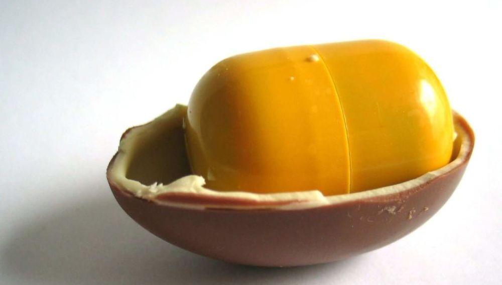 Imagen de un huevo sorpresa