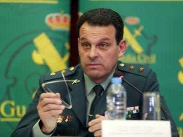 José Hernández Mosquera, teniente coronel Jefe Accidental de la Comandancia de la Guardia Civil de Almería