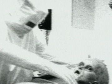 Falso vídeo sobre extraterrestres