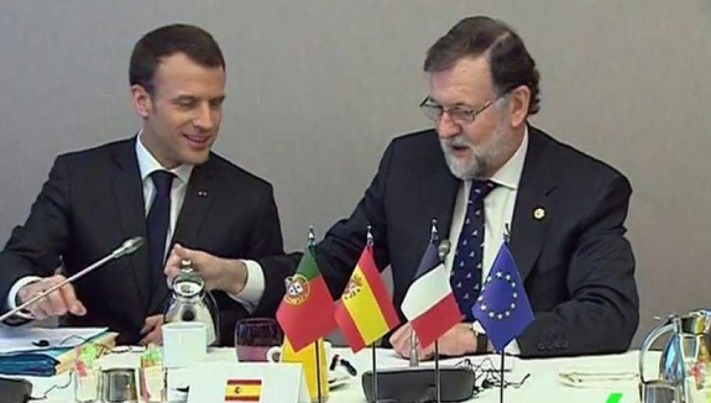 Rajoy en Bruselas