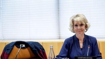 La expresidenta de la Comunidad de Madrid, Esperanza Aguirre