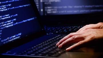 Un usuario con su ordenador