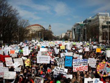 Concentración en Washington contra las armas