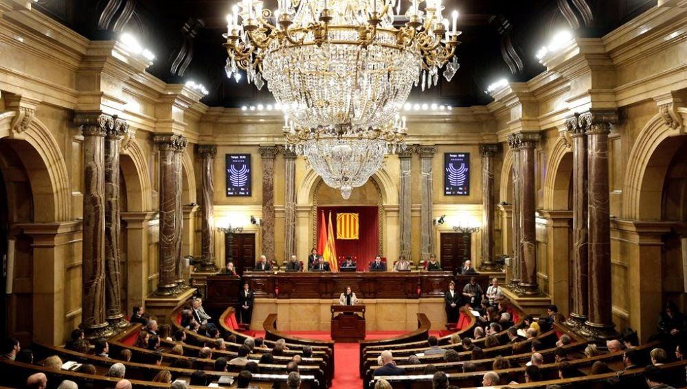 Inés Arrimadas en el Parlament de Cataluña