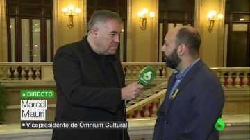 Marcel Mauri, vicepresidente de Òmnium Cultural