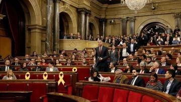 Xavier García Albiol en el Parlament de Cataluña