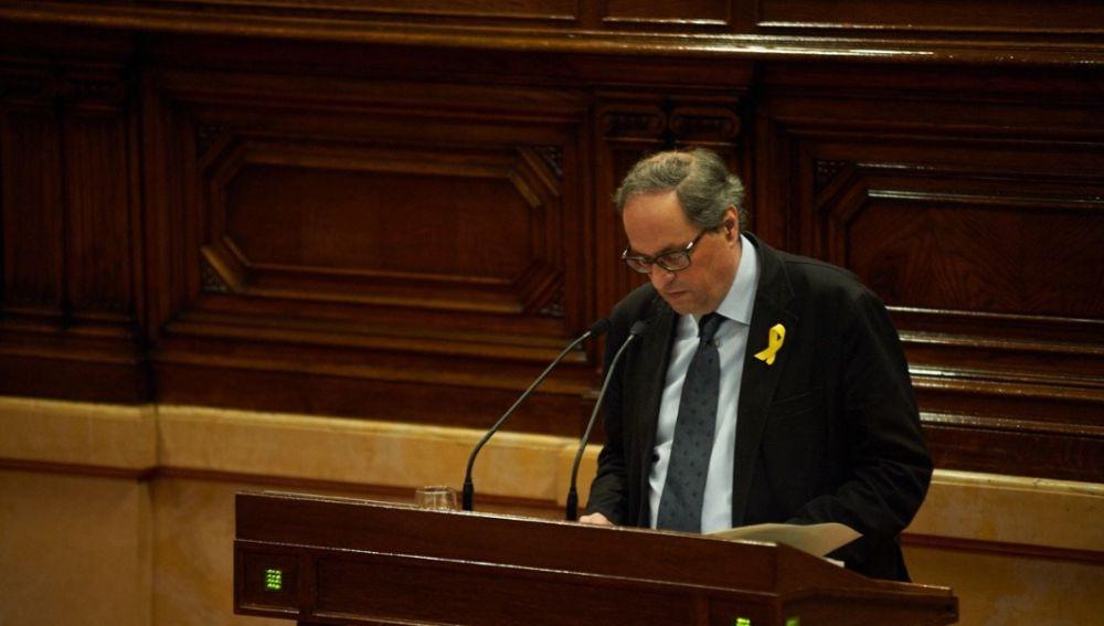 Joaquim Torra, diputado de JxCat
