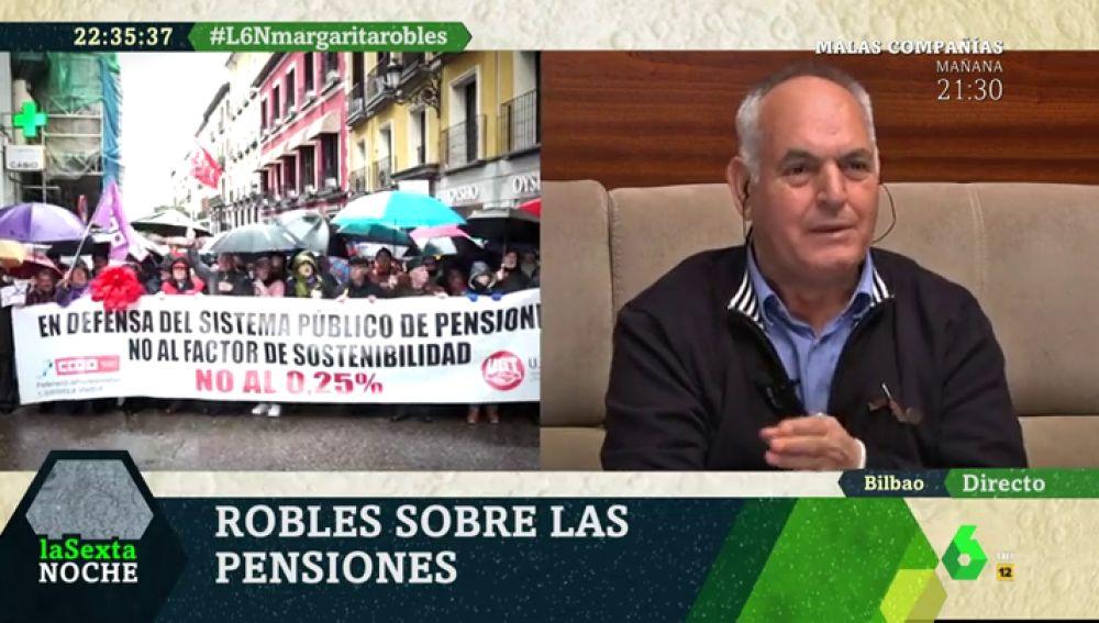 Josele, pensionista