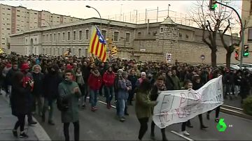 Manifestación independentista en Tarragona