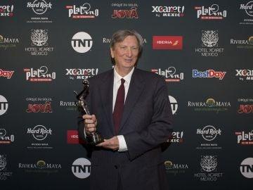 En la imagen, el presidente de la Academia de Hollywood, John Bailey