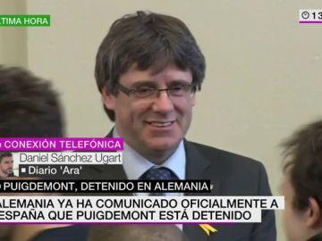 Daniel Sánchez Ugart, diario 'Ara'