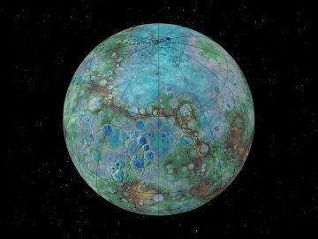 Un exoplaneta con el tamano de la Tierra y la composicion de Mercurio