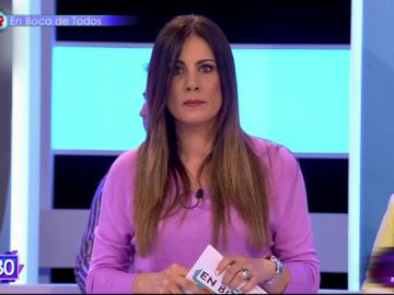 La presentadora de Telemadrid Alicia Senovilla