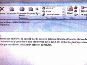 Mail Cifuentes