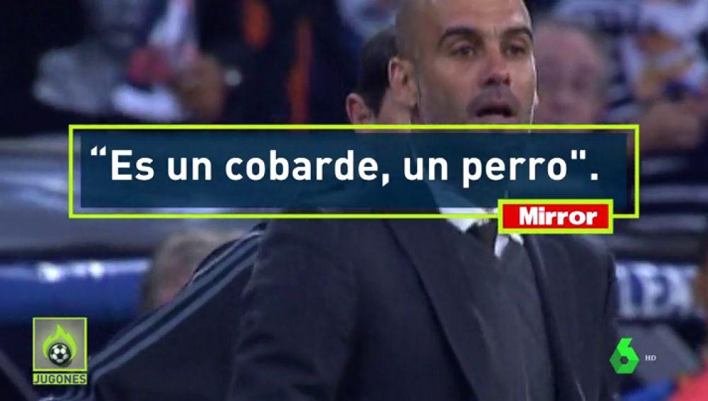"""Raiola: """"Guardiola es un cobarde, un perro; como persona es un cero absoluto"""""""