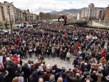 La plataforma de asociaciones de jubilados, viudas y pensionistas de Bizkaia