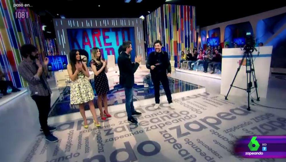 Quique Peinado, Cristina Pedroche, Anna Simon, Frank Blanco y Javier Bardem