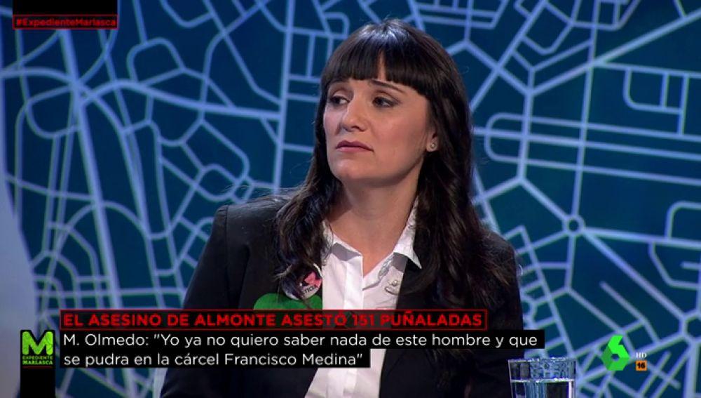 Marianela Olmedo, esposa y madre de las víctimas de Almonte