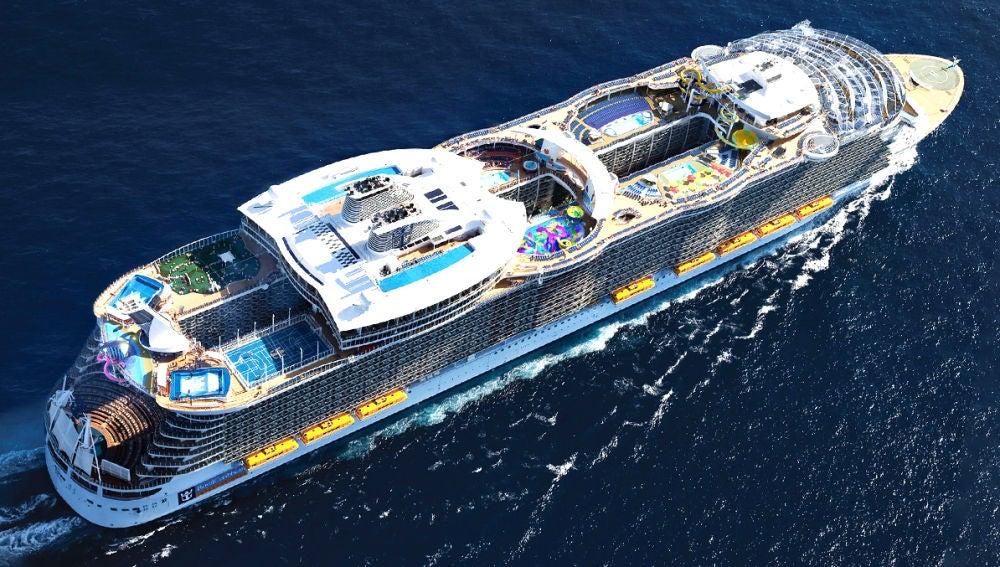 Symphony of the Seas, el barco más grande del mundo