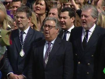 Ministros del Gobierno presentes en actos religiosos con motivo de la Semana Santa