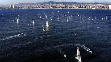 Suspendida la 'Barcelona World Race'