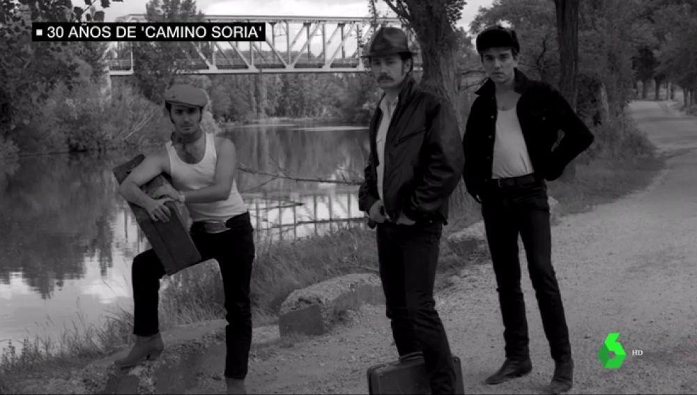 Portada del disco de Gabinete Caligari 'Camino a Soria'