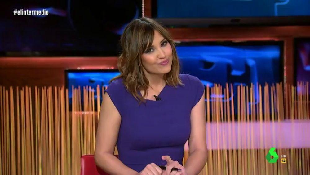 Sandra Sabatés en El Intermedio