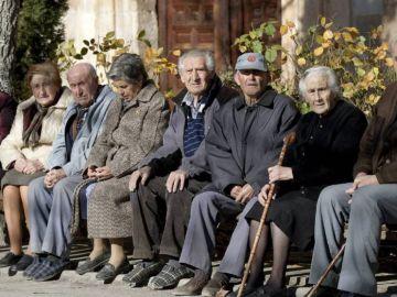 Imagen de un grupo de pensionistas