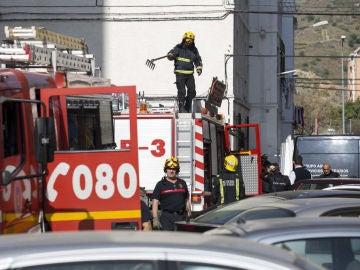 Imagen de archivo de los bomberos de Andalucía