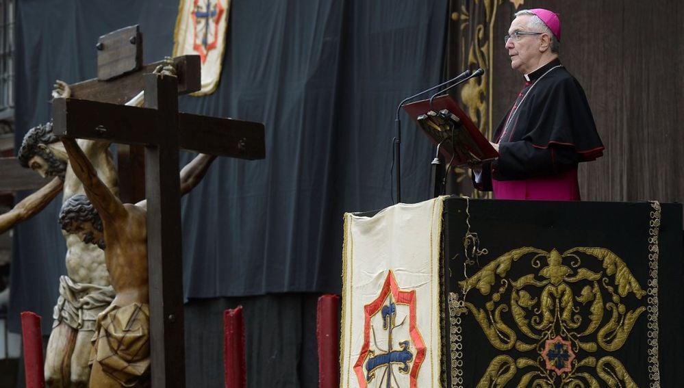 El obispo de Santander, Manuel Sánchez Monge