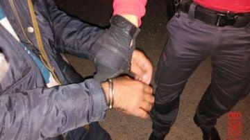 Imagen de archivo de una detención por parte de la Policía Foral de Navarra