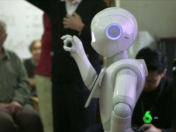 Robot en una residencia de ancianos