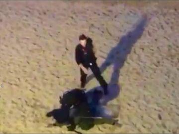 Detenido en la Playa de a Concha