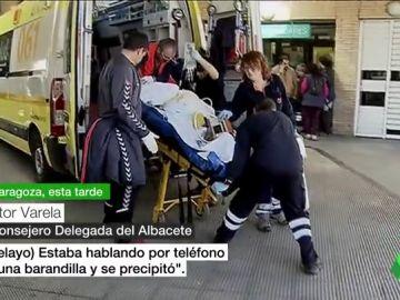 """Habla el Consejero Delegado del Albacete: """"Pelayo estaba hablando por teléfono en una barandilla y se precipitó"""""""