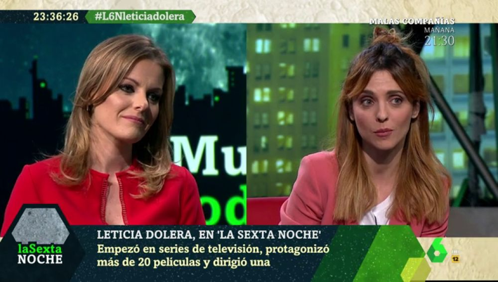 Leticia Dolera en laSexta Noche