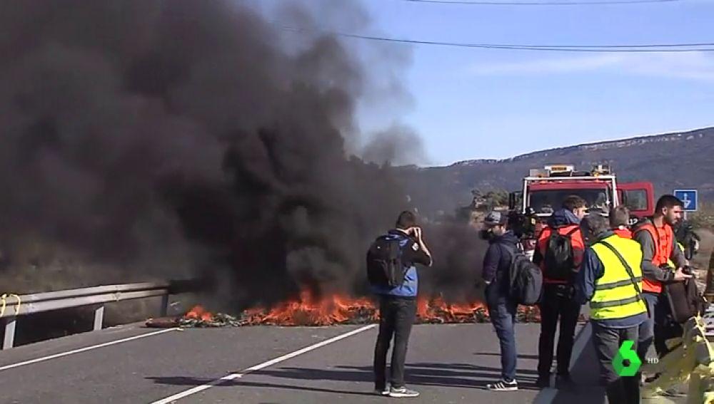 Cortes en carreteras provocados por los CDR