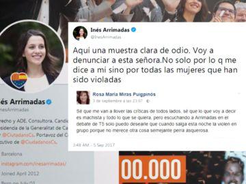 Acoso en Twitter a Inés Arrimadas