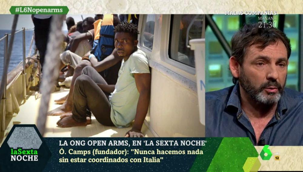 Óscar Camps, fundador de Proactiva Open Arms