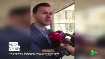 """El consejero delegado del Albacete, sobre Pelayo Novo: """"Hay que tener paciencia, son momentos duros"""""""