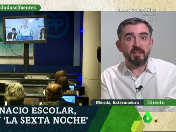 Ignacio Escolar, en laSexta Noche