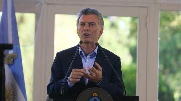El expresidente de Argentina Mauricio Macri