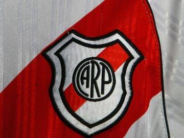 Imagen de archivo del escudo de River Plate