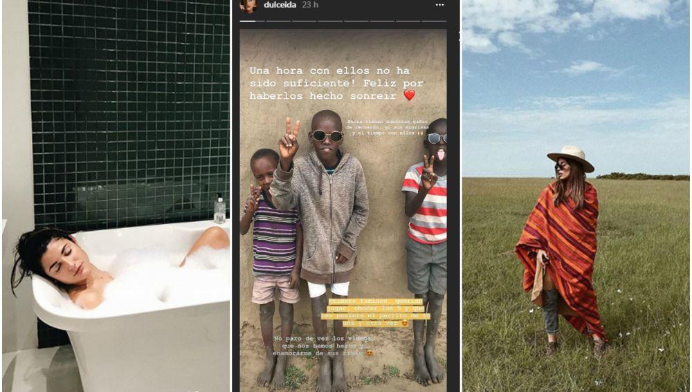 Las polémicas fotos de Dulceida y Alba Paul en África