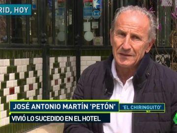 """Petón, sobre el accidente de Pelayo: """"Cae al vacío y cae gritando"""""""