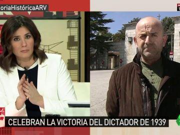 Bonifacio Sánchez, de la Asociación para la Recuperación de la Memoria Histórica